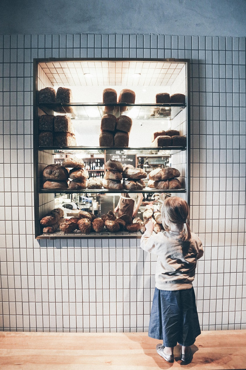 My little Parisian in a Shanghainese Bakery