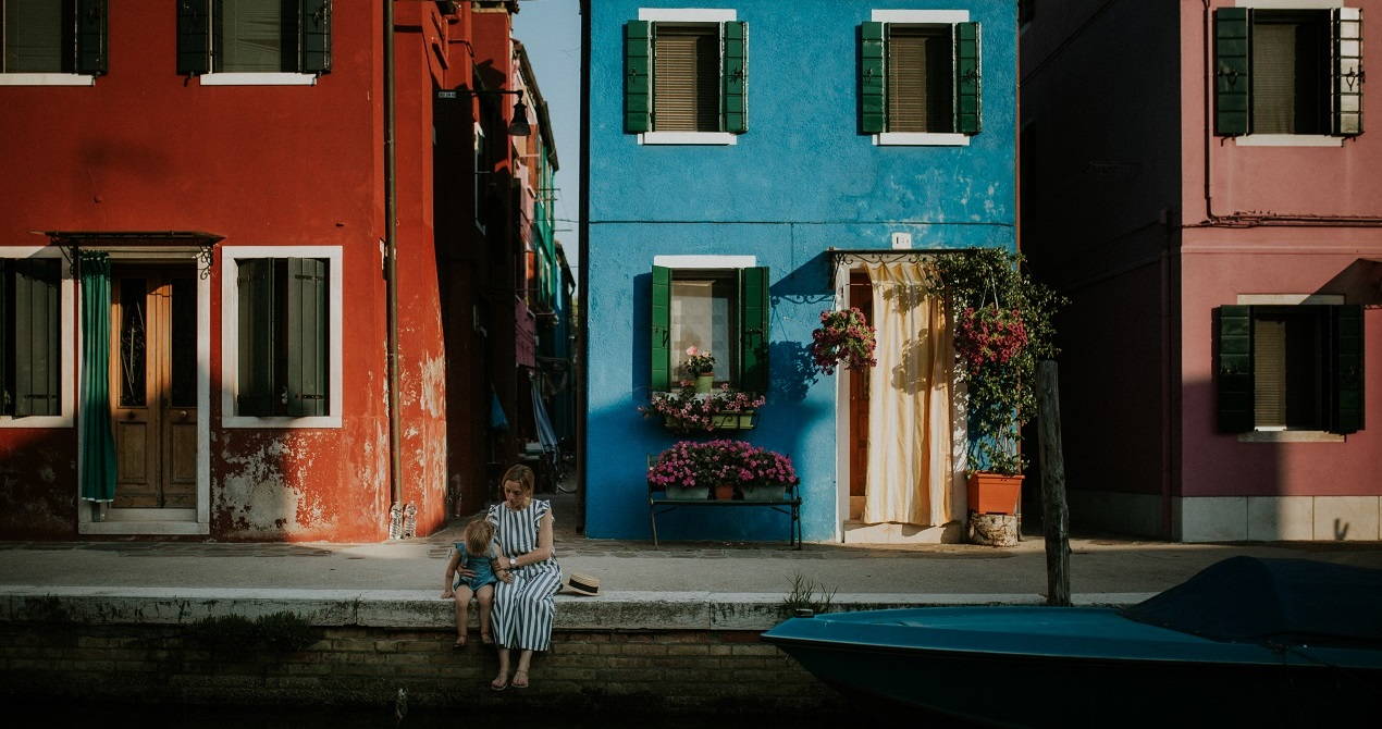 A love story in Burano