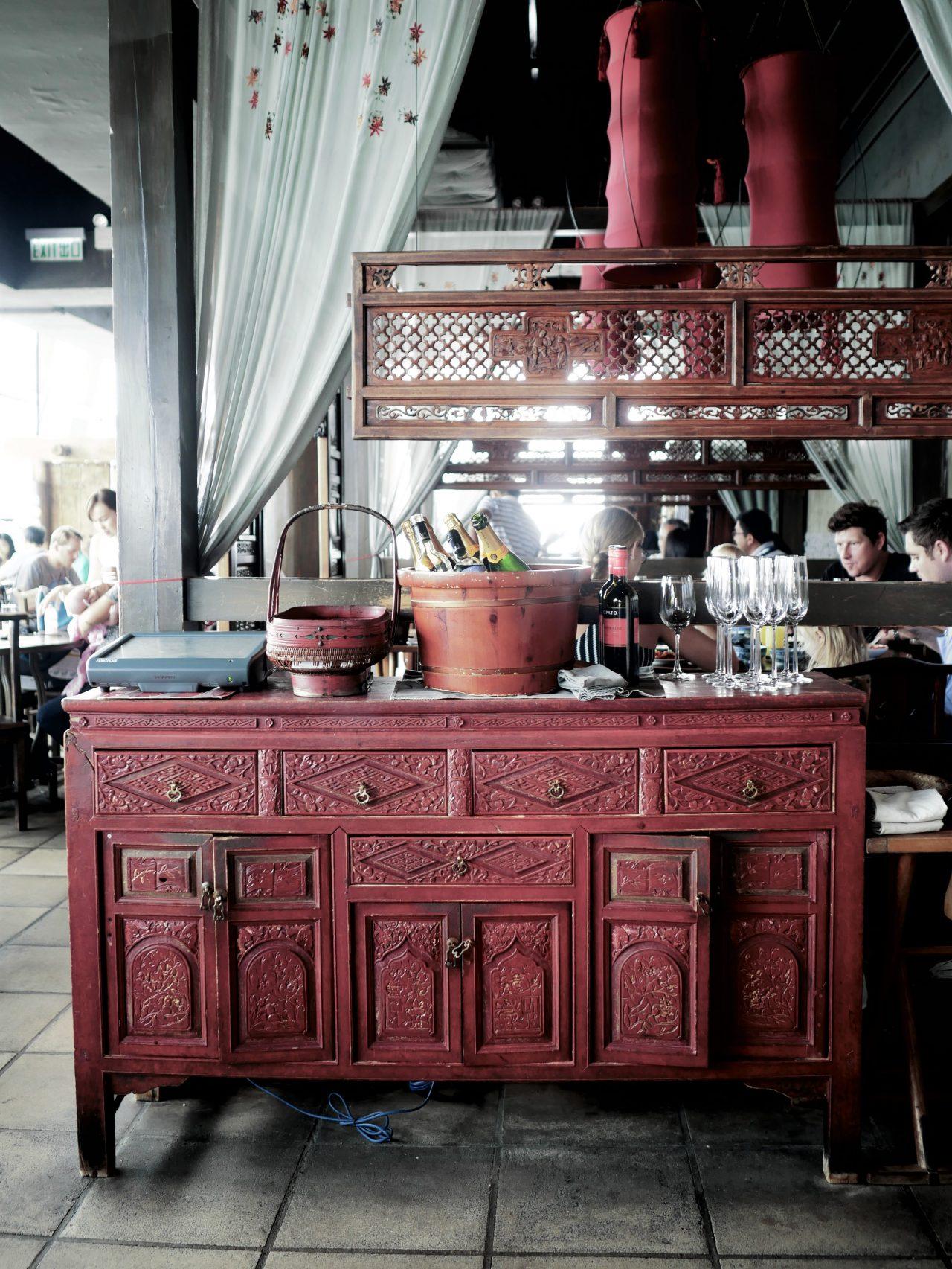 Traditional meets modern at Hutong