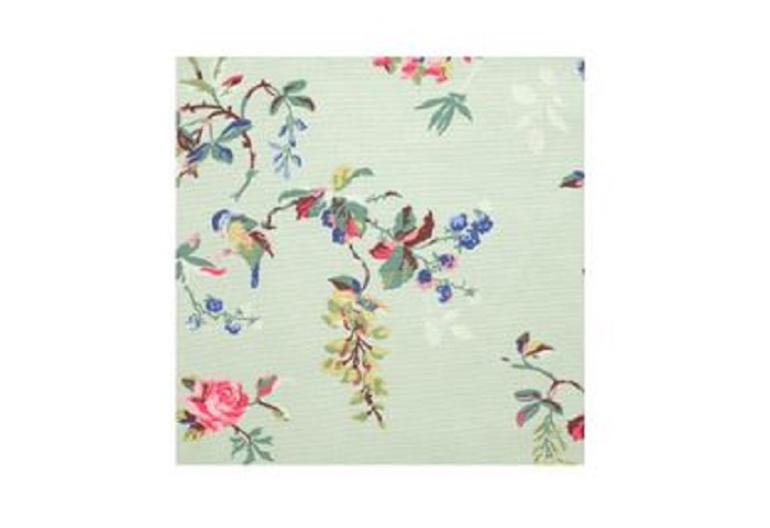 BIRDS & ROSES COTTON DUCK